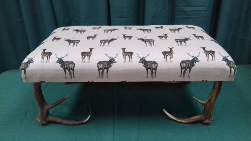 Footstool Stag and hind