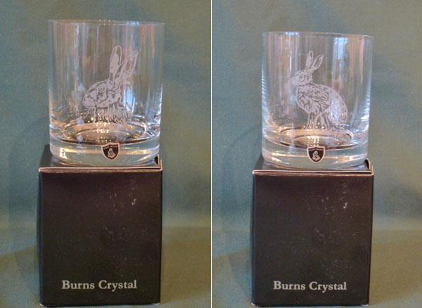 Hare Burns Crystal