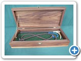 14.Childs Christening Whip in Oak Prentation Box........£340.00