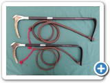 9.Hunting Whips Fitted With Two Silver Collars.... Ladies - £242.00......Gents - £254.00