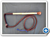 2.Wooden Knob Whip with Cane Shaft  - £130.00