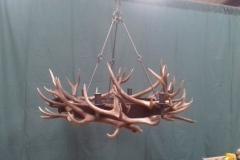 Antler chandelier 6