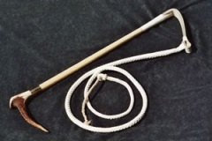 7. Huntservants Whip - £172.00 ... with Silver Collar - £212.00
