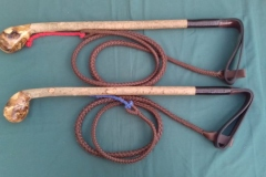 2.Ash Kennel Knob Hunting Whip - £140.00