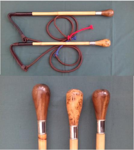 Knob Whip With a Cane Shaft - £135.00
